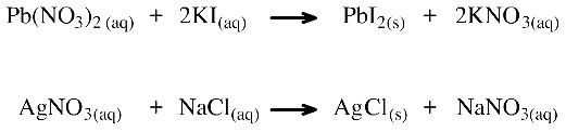 Salt metathesis reaction
