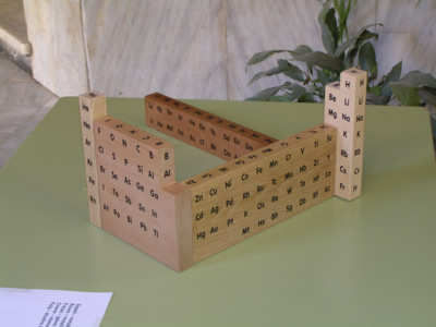 Periodic table database chemogenesis wooden periodic table wooden periodic table urtaz Images